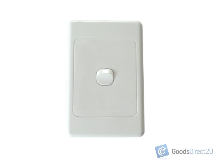 Admirable Light Switch 1 Gang Vertical 10A 10 Box Caraccident5 Cool Chair Designs And Ideas Caraccident5Info